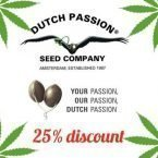 25% off dutch passion seeds