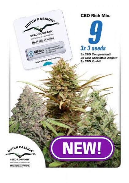 CBD Rich Feminised Mix female seeds